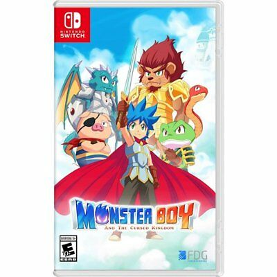 Nintendo Switch - Monster Boy and the Cursed Kingdom (Launch Edition)