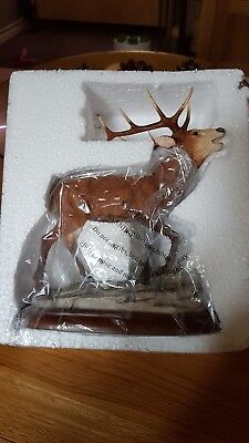Border Fine Arts Large Stag Ornament Bnib Fantastic