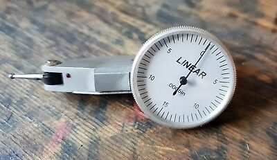 "Linear G395363 Range .0005"" Resolution Dti Lever Dial Test Indicator"