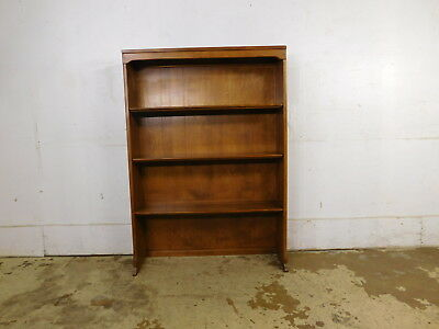 """RARE 34"""" Wide 1959 Ethan Allen Baumritter Vermont Maple Hutch Bookcase Top Only"""