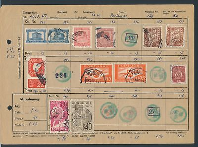 XB35200 Portugal nice lot of good old stamps used