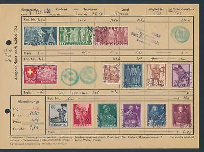 XB35263 Switzerland nice lot of good old stamps used