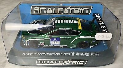 C3713 SCALEXTRIC BENTLEY CONTINENTAL GT3, ADAC Nurburgring 2015, No85. NEW