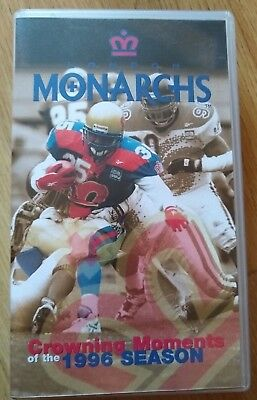 London Monarchs Crowning Moments 1996 VHS (World League of American Football)