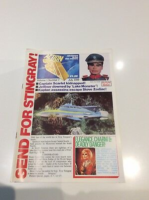 Action 21 Magazine Number 7 Gerry Anderson
