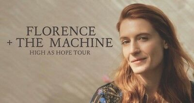 """2 Tickets """"Florence and the Machine"""" München Olympiahalle 02.03.2019"""
