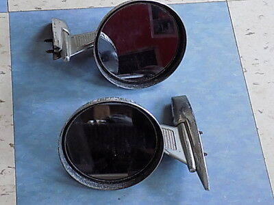 2 ROBERK GUARDIAN SIDE MIRRORS, Found in trunk of 57 Desoto Fireflite, RARE