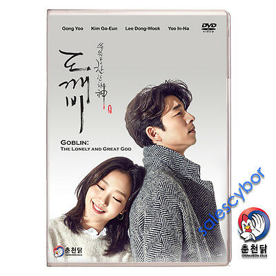 KOREAN DRAMA DVD Guardian: The Lonely and Great God (Ep 1-16