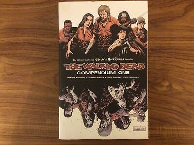 The Walking Dead Compendium One Graphic Novel / Comic Book