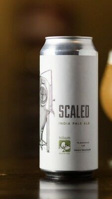 Trillium Brewing Scaled IPA 4 Collectors Cans