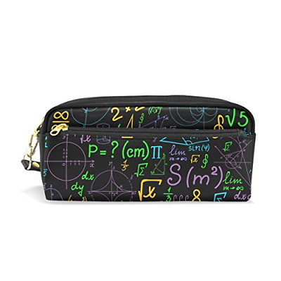 ISAOA Pencil Case for for Student Boys Girls and Office,Creative Geometric Pen