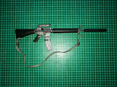 1/6 gun rifle m16 brit uk sas sbs bbi toy soldier story dam easy simple dragon