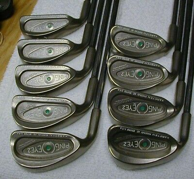 Ping Eye 2 2-Pw Blueprinted Green Dot Spine Aligned Ping Zz Lite Awesome Lh