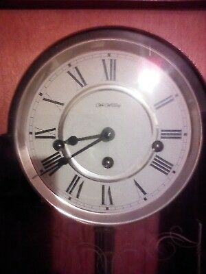 Antique Westminster Chime Wall Clock (Widdop)