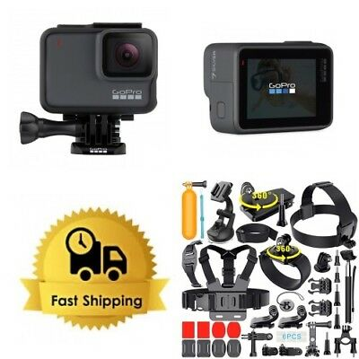 GoPro Hero7 Silver Hero 7 CHDHC-601 + Extreme Sports Bundle!