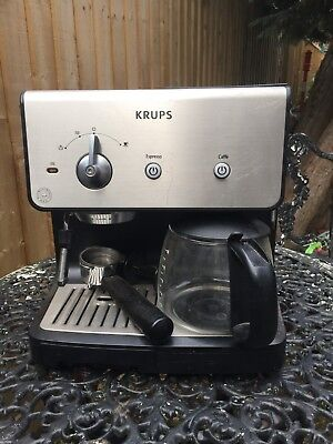 "KRUPS - Espresso / Coffee Machine - ""A PROPER COFFEE MAKER"""