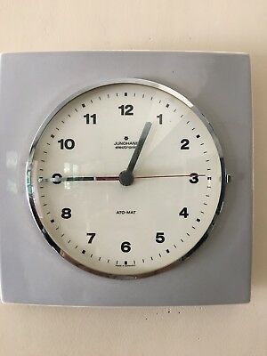 Junghans Vintage Retro Wall Clock