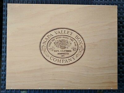 Napa Valley Box Company Cassette Tape Holder 30 Slot Handle Travel Case