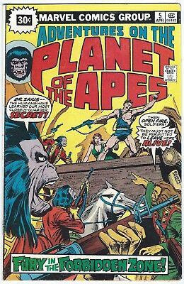 Adventures on the Planet of the Apes #5 RARE 30 CENT LMTD DISTRIBUTION