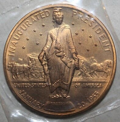 Uncirculated President Dwight D Eisenhower 1st Inaguration Bronze Medal 1953 838