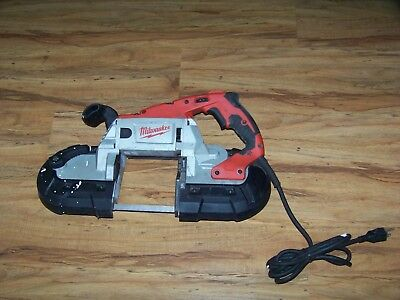 Milwaukee 6232-20 Deep Cut Band Saw Porta Band With Case