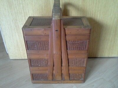 Beautiful Rattan 1920/30S Sewing  Box