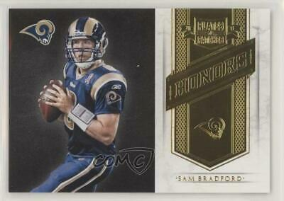 2011 Plates & Patches Honors/249 #21 Sam Bradford St. Louis Rams Football Card