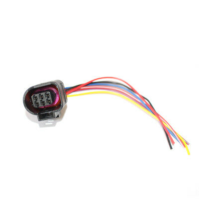 FIT FOR AUDI VW SKODA Throttle Wiring Harness Adapter ... Vw Pat Accelerator Wiring Harness Plug on