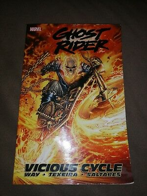 Ghost Rider Vicious Cycle Volume 1 Marvel Graphic Novel Comic