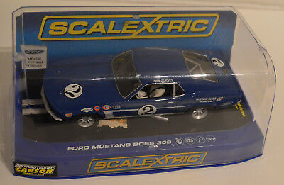 Scalextric 1:32 Ford Mustang Boss 302 unbespielt in Originalverpackung