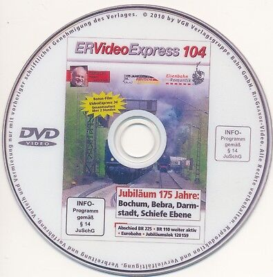 DVD Eisenbahnromantik Video Express 104