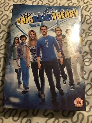 The Big Bang Theory - Series 1-6 - Complete (DVD, 2013, 19-Disc Set, Box-Set)