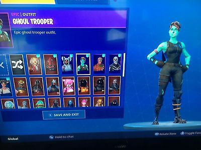 Rare fortnite account real images