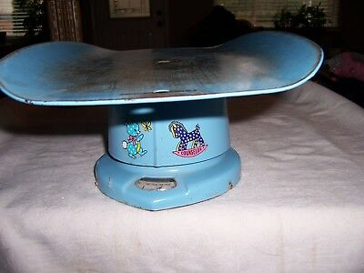 Nursery Baby Scale For Home Use Baby Blue Vintage
