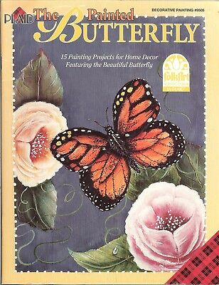 The Painted Butterfly - 15 decorative painting projects, Plaid booklet #9505