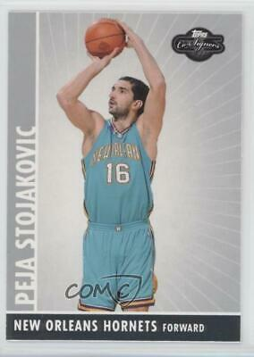 456beddb3b7 2008-09 Topps Co-Signers #76 Peja Stojakovic New Orleans Hornets Basketball  Card