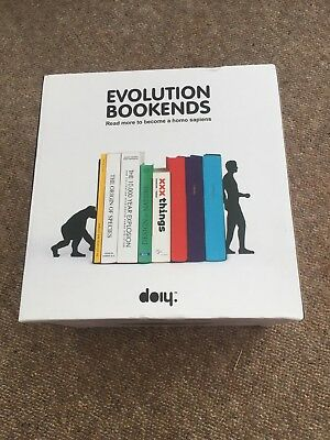 DOIY Evolution Bookends Black BNIB