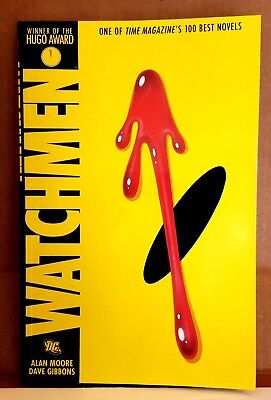 WATCHMEN DC Graphic Novel by ALAN MOORE  Unread
