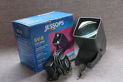 Jessops SV-8 35mm Slide Viewer with power adapter