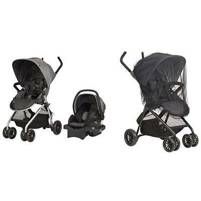 Evenflo Travel Systems Sibby System, Highline Gray With Stroller Insect Netting