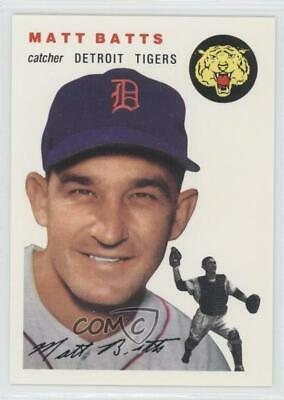 1994 Topps Archives The Ultimate 1954 Set #88 Matt Batts Detroit Tigers Card
