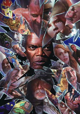 Glass Painting Textless Poster Film A4 A3 A2 A1 Large Format Gloss Cinema Movie