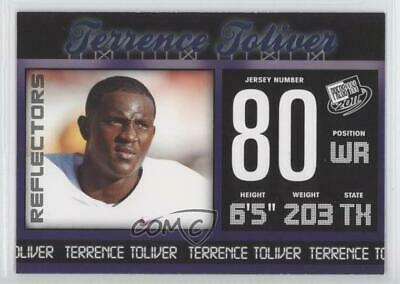 2011 Press Pass Blue Reflectors #49 Terrence Toliver Penn State Nittany Lions
