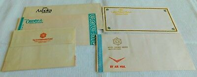Awesome! Rare! 1960's Vintage Collection Of Hotel Stationary India