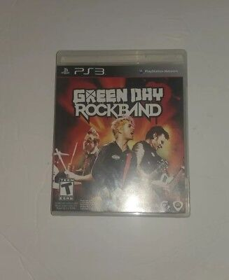 Green Day: Rock Band  - Sony Playstation 3 Game