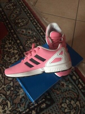 competitive price 4a35c 6f7df Adidas Zx Flux C Rosa Bambina Scarpe Sportive Sneakers BY9852