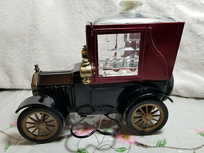 "Vintage 1918 Ford Model T Music Box Decanter  ""how Dry I Am"""