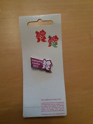 Official Inspired by London 2012 Olympics Pin Badge