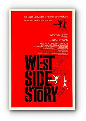 West Side Story Poster Film A4 A3 A2 A1 Large Format Cinema Movie