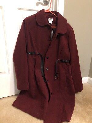 Motherhood maternity winter Pea coat